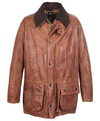 mens barbour porchester leather jacket barbour leather