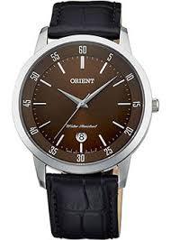 Японские наручные <b>часы</b> с коричневым циферблатом ...