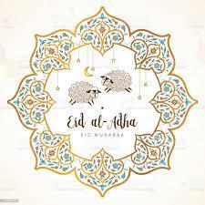 Glücklich Opfer Fest Eid Aladha Karte Stock Vektor Art und mehr Bilder von Eid  al-Adha - iStock