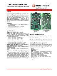 lcm & lem 320 control and expander modules data sheet electrical Notifier Nfs2 3030 Wiring Diagram lcm & lem 320 control and expander modules data sheet electrical engineering electricity Who Makes Notifier NFS2-3030