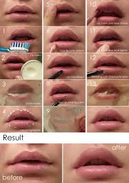 natural look lip makeup tutorial