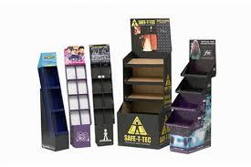 Retail Product Display Stands Custom Cardboard Product Retail Display Stands PPI 14