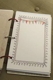 Think that I am going to make my own journal pages like this, such an