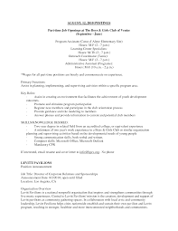 Useful Resume Objective Examples for A Part Time Job About Part Time Job .