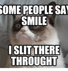 grumpy cat i am smiling. Contemporary Cat Grumpy Cat I Am Smiling Inside C