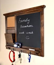 beautiful kitchen chalkboard organizer with framed ideas pictures