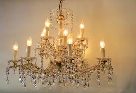 a beautiful first half 20th century italian 16 branch two tier crystal chandelier
