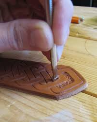 picture of work the magic leather tooling