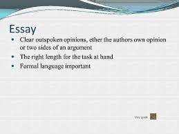 formal writing essay article report  formal writing essay article report