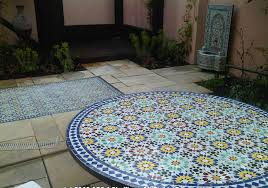 floor and table moroccan garden design greenwich london