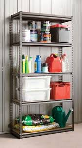 The Handy Storage Horizon Series 5 Shelf Boltless Storage Shelving Unit is  ideal for storage in