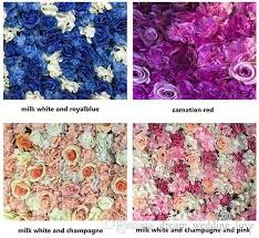 Free Floral Backgrounds Creative Wedding Stage Props Silk Rose Tracery Wall Encryption