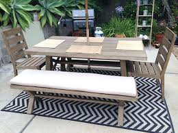 west elm outdoor furniture dining set before after backyard transformation by home stylist covers west elm outdoor furniture r95 elm