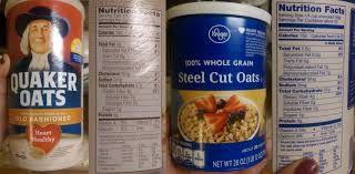 nutritional showdown steel cut oats vs rolled of mice and makeup quaker old fashioned oats nutrition facts