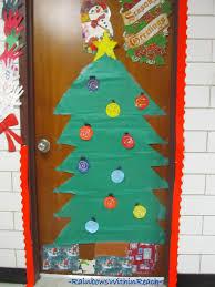 Christmas Tree Door Decoration Ideas Classroom Our Family