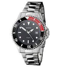 mens bracelet watch sekonda mens black dial bracelet watch 3078 rrp £49 99