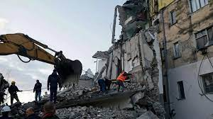 powerful earthquake rattles Albania