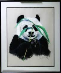Original Norma Jeanne Curran Panda Painting - Dec 07, 2013   Main ...