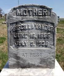 Priscilla Knappenberger Stephens Xander (1866-1938) - Find A Grave Memorial