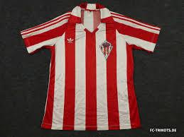 Sporting de Gijón 1985-86 Heimtrikot