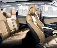 interior photo of spacious hyundai santa fe xl 2018 suv seven passenger seating optional third