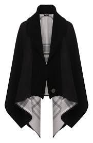 Женская черная шерстяное <b>пончо GIORGIO ARMANI</b> — купить за ...