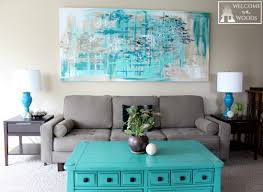 Wall Art For Living Room Diy Diy Canvas Art For Living Room Yes Yes Go
