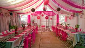 decoration ideas for baby girl 1st birthday decorating party and
