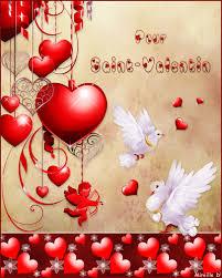 Carte De St Valentin Carte Romantique Pour Saint Valentin Chez Mireille D