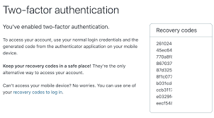 disabling two factor authentication