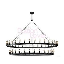 rh camino vintage candelabra 2 tier chandelier