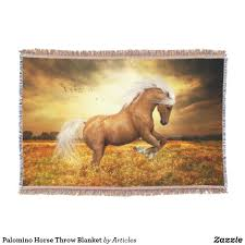 Horse Design Throw Blanket Palomino Horse Throw Blanket Zazzle Com Room Horses