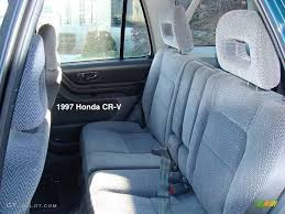 tether anchors can be retrofitted for the 1997 2000 cr v in 2d and 2p only not in 2c sadly except for the tether anchors the back seat is the same for