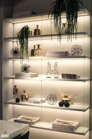 decorating with led strip lights kitchens with energy efficient rh decoist com floating shelves with led