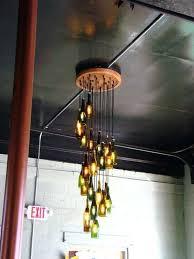 liquor bottle chandelier diy glass bottle chandelier chandeliers glass bottle chandelier how