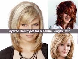 Medium Hairstyles Layers Latest Everlasting Layered Hairstyles For Medium Length Hair
