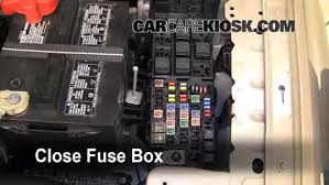 replace a fuse 2008 2009 ford taurus 2008 ford taurus sel 3 5l v6 6 replace cover secure the cover and test component