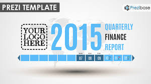 finance report templates quarterly finance report prezi template prezibase