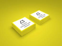 10 Free Business Cards 10 Free Square Business Card Mockups Smashfreakz