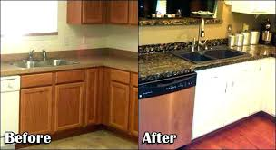 can you paint countertops to look like granite looking for a
