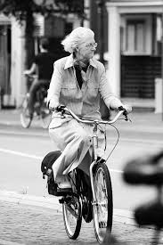 Image result for images of an old woman on a bike