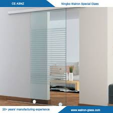 office glass door. China Office Sliding Glass Door With Tempered/Toughened Supplier