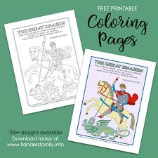 Have fun coloring these scenes based on the accounts of scripture. Great Dragon Coloring Page Flanders Family Homelife