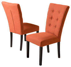 burnt orange dining chairs fabric intended for plan 6 orange dining chairs6