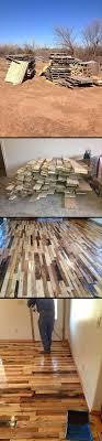 DIY Rustic Pallet Wood Wall | Pallet wood walls, Pallet wood and Wood walls