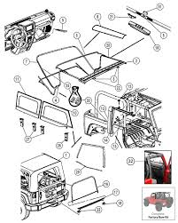 interactive diagram jeep wrangler jk 2 door soft top hardware interactive diagram jeep wrangler jk 2 door soft top hardware