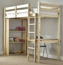 study bunk bed 3ft single work station bunkbed with table chair and bookcase co uk kitchen home