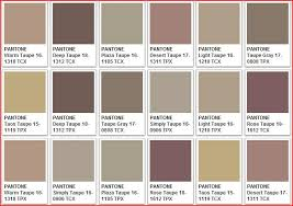 50 colors of taupe