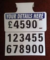 auto for sale sign 10 x personalised car for sale signs visor price boards sale signs