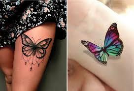 10 Krásných A Inspirujících Tetování S Motýli Které Vás Nejvíce